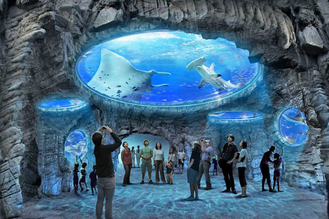 Океанический парк Гонконга