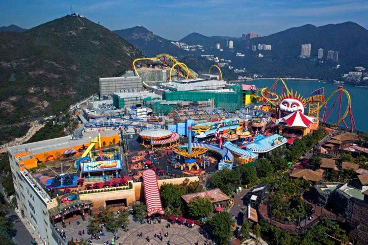 Парки развлечений Гонконга