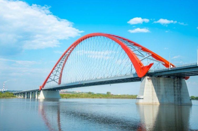 Новосибирск Бугринский мост