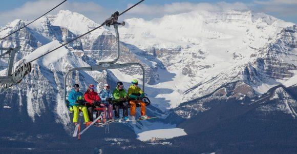 Банфф – горнолыжный курорт