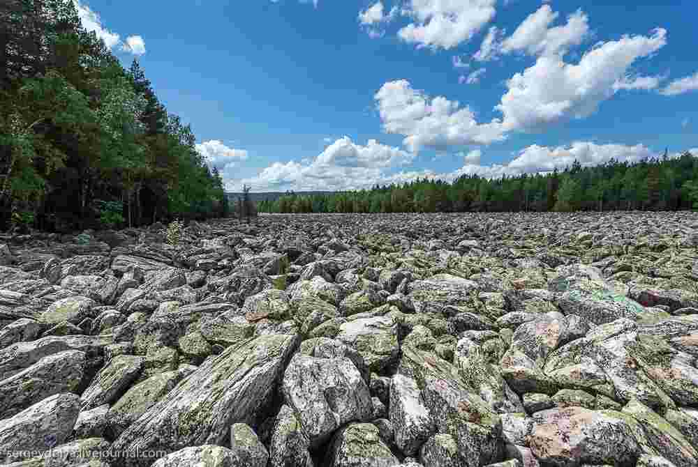Таганай Каменная река
