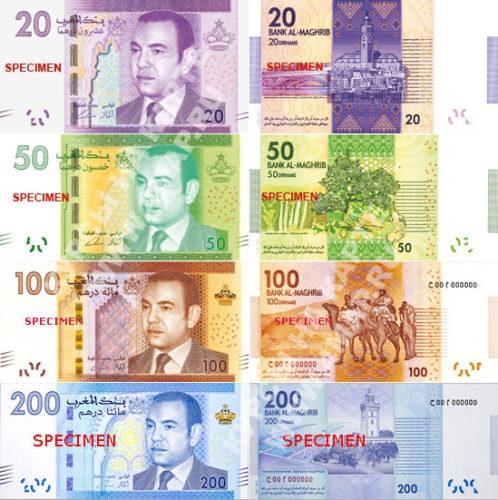 Деньги Марокко