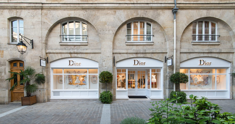 Модные магазины Парижа