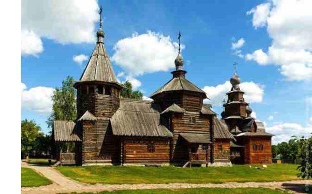Суздаль Музей деревянного зодчества