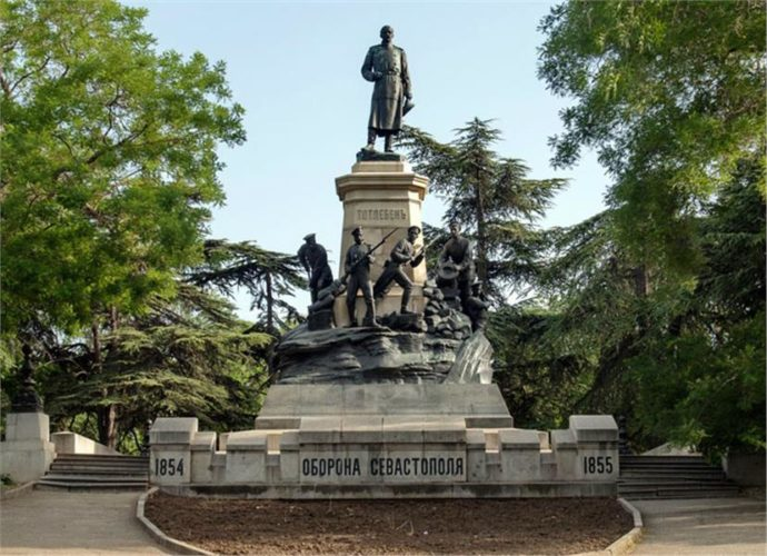 Севастополь оборона Севастополя 1854-1855