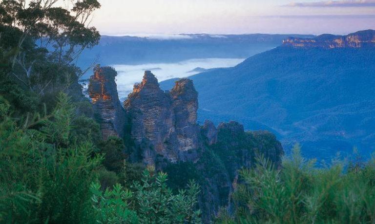 Поездка в Австралию парк Голубые горы