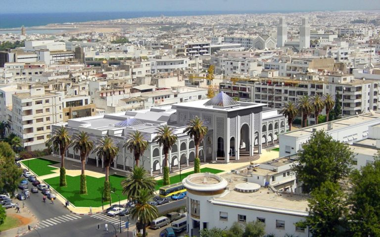 Рабат столица Марокко