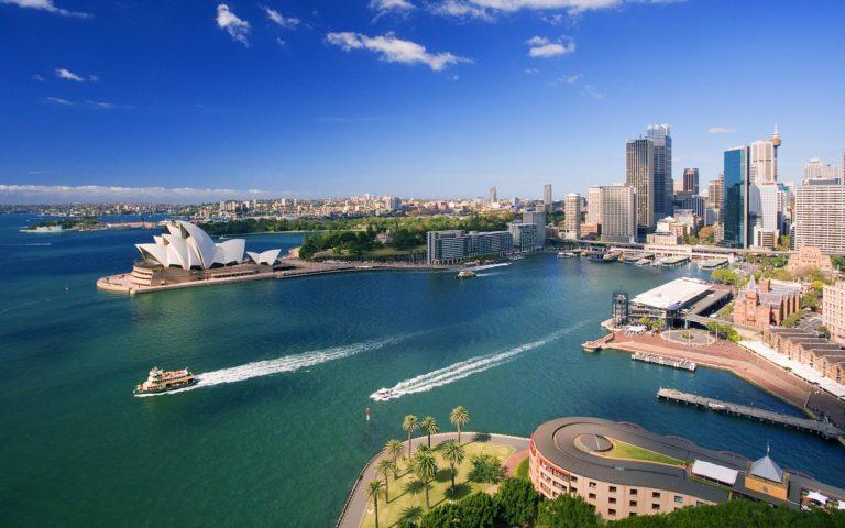 Поездка в Австралию Сидней