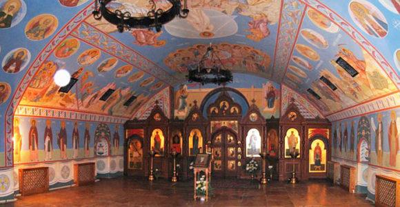 Черниговский скит пещерные храмы