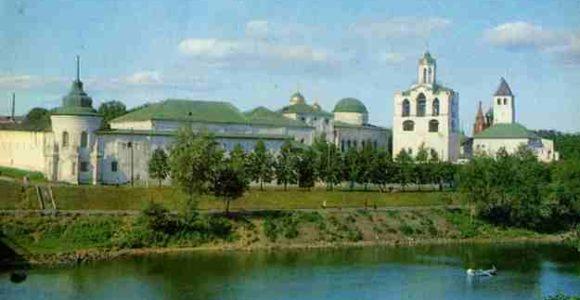 Ярославский музей-заповедник Спасский монастырь