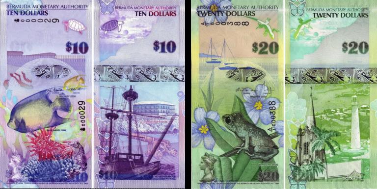 Деньги Бермудских островов