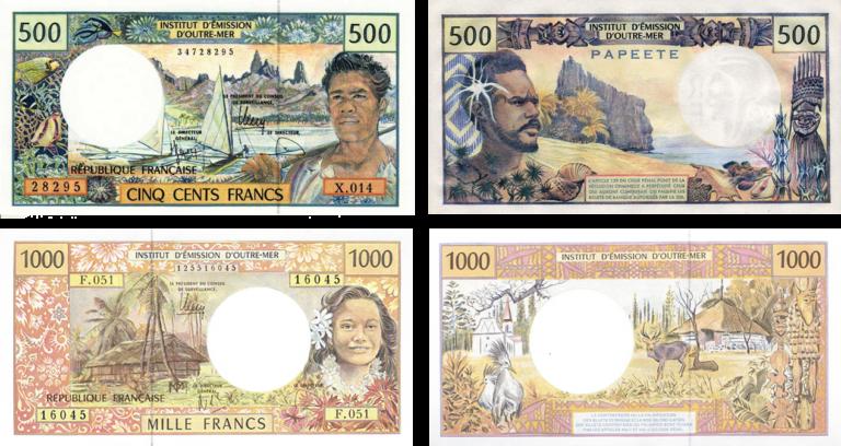 Деньги французских колоний