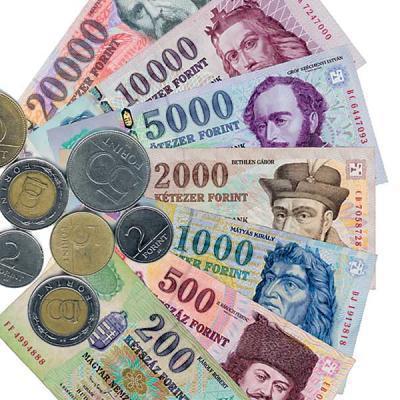 Валюта Венгрии - форинт