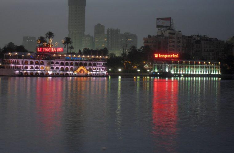 Каир вечерний