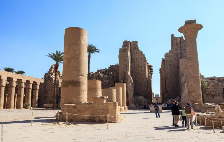 Египет Карнакский храм