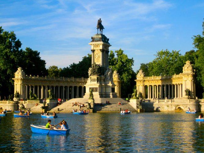 Парк «Буэн-Ретиро» Мадрида