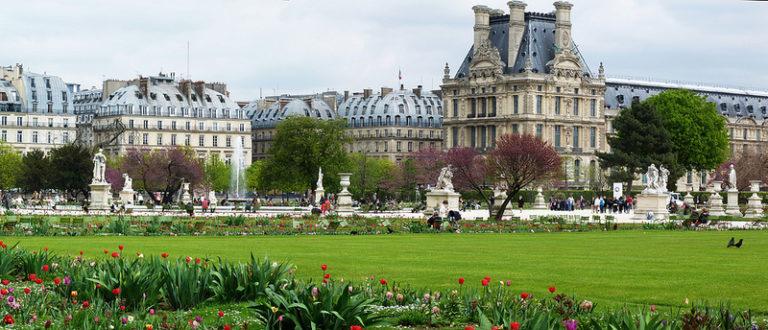Париж парк Тюильри