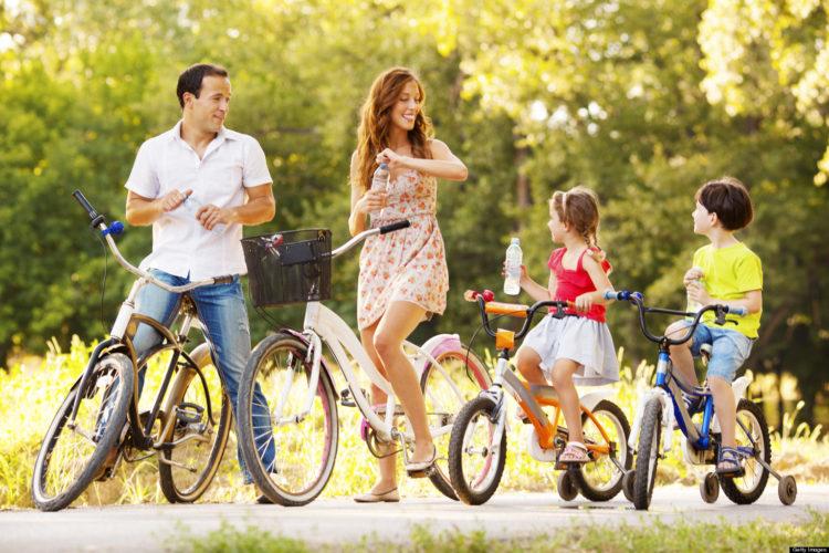 Поехать на отдых для всей семьи