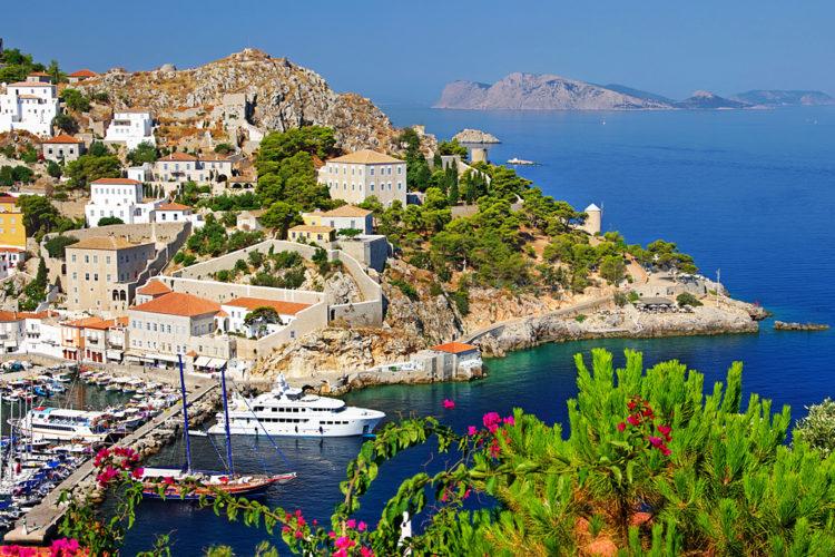 Греция Саронические острова