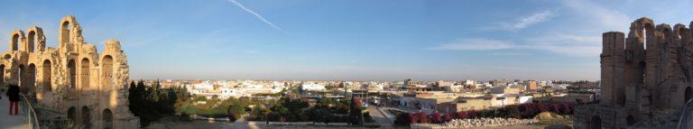 Тунис панорама Карфагена