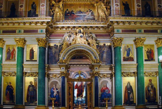 Исаакиевский собор интерьер