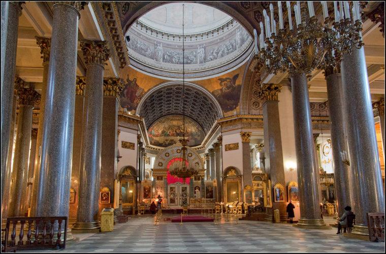 Казанский собор интерьер