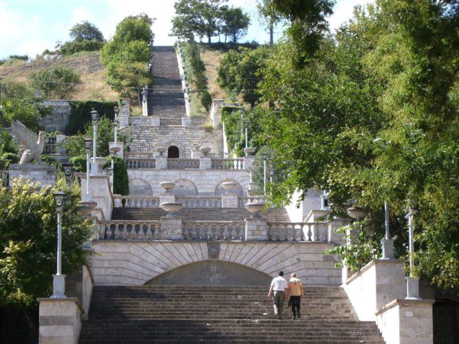 Керчь Митридатская лестница