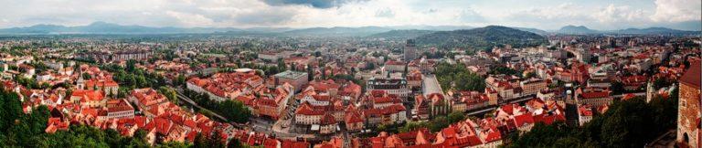 Словения Любляны панорама