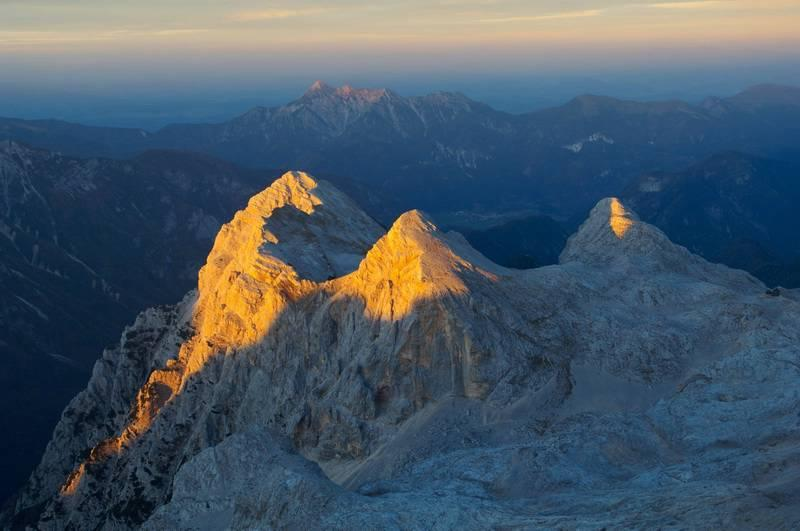 Фото Словении гора Триглав