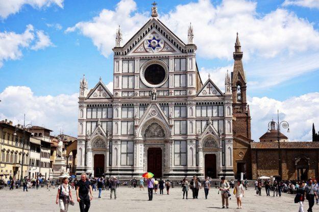 Флоренция Базилика Санта Кроче
