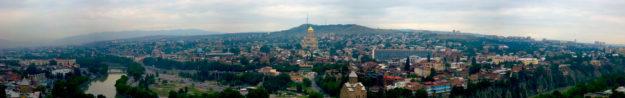 Грузия панорама