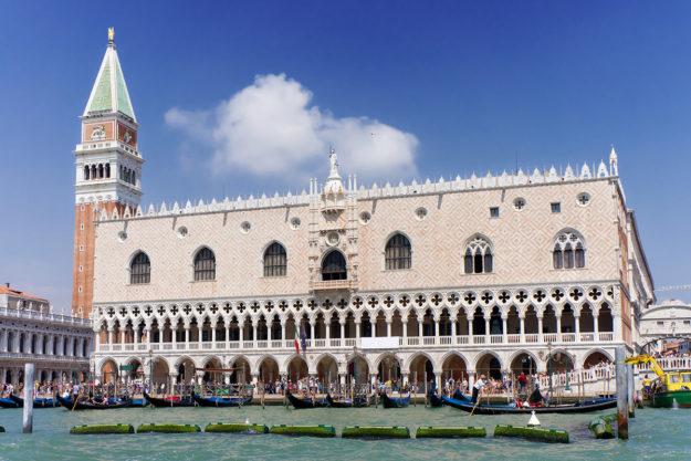 Венеция Дворец Дожей