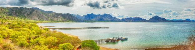 Индонезия панорама
