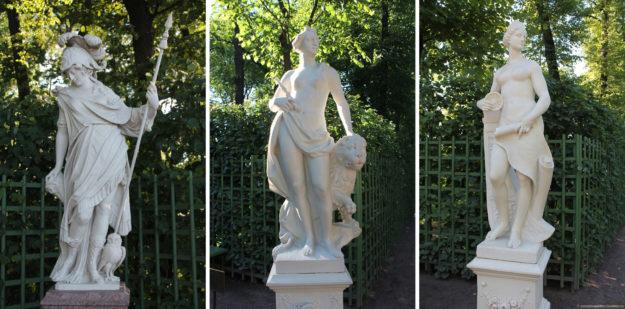 Летний сад скульптуры