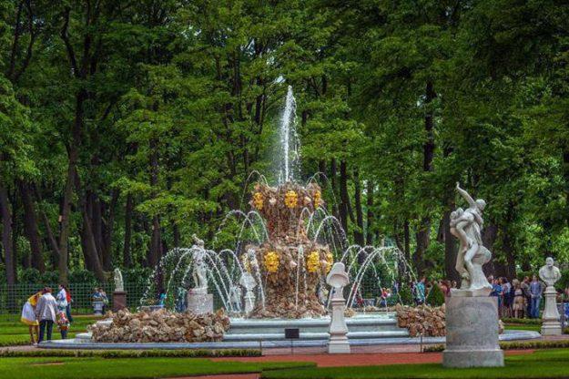 Летний сад фонтаны