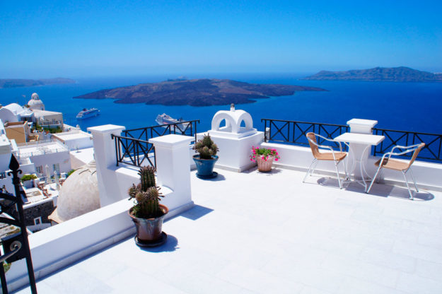 На отдых в Грецию