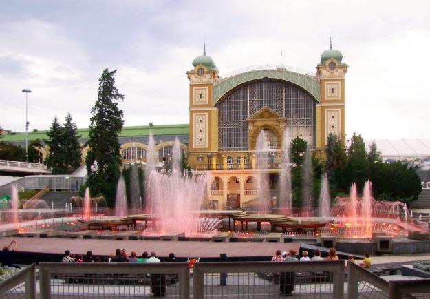 Прага Кржижиковы фонтаны
