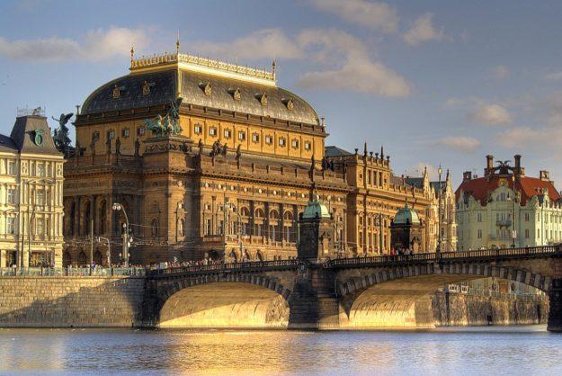 Прага Национальный театр