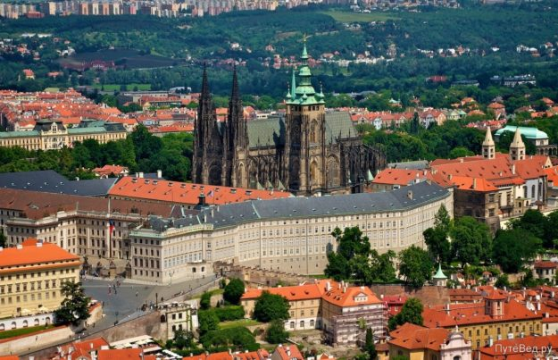 Прага Пражский град