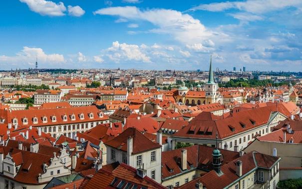 Прага крыши