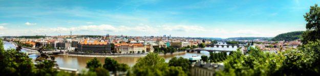 Чехия панорама
