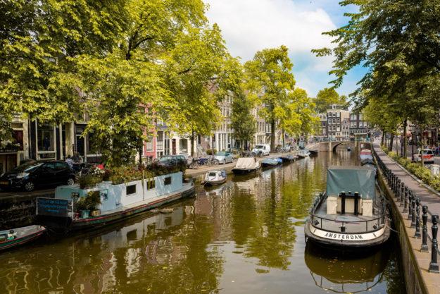 Амстердам Каналы
