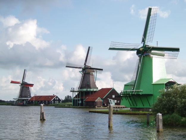 Амстердам Музей под открытым небом Зансе-Сханс
