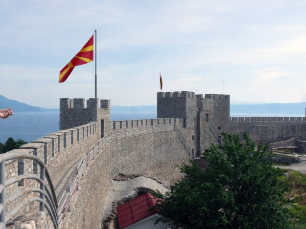 Охрид Крепость царя Самуила