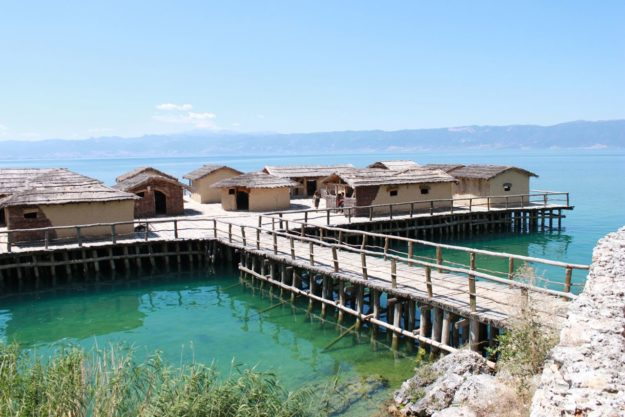 Охрид Музей на воде