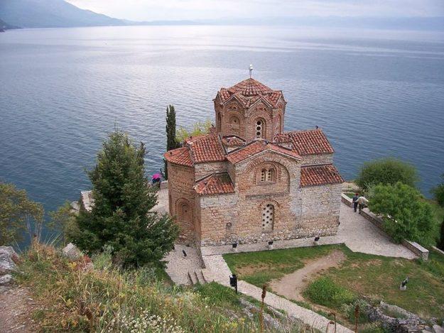 Охрид Церковь Святого Иоанна Богослова