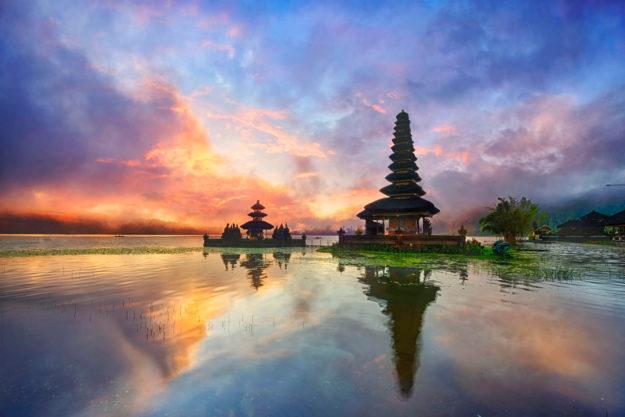 Храм острова Бали