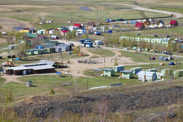 Экскурсионный лагерь на территории Аркаима