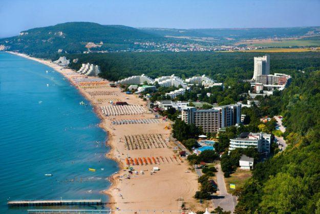 Албена пляжи
