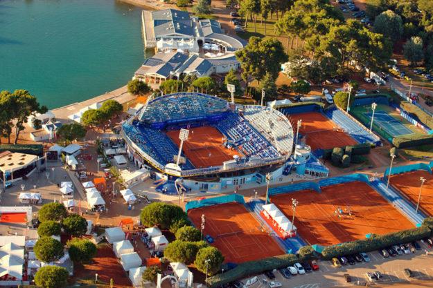 Теннисные корты Умага